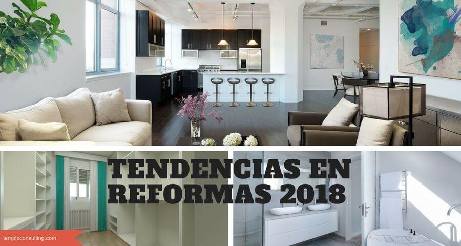 tendencias en reformas 2018