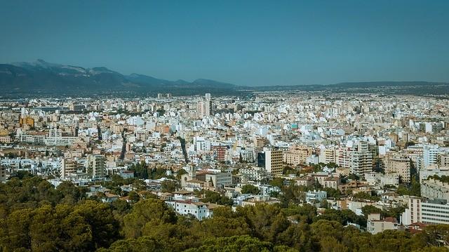Palma de Mallorca desde arriba