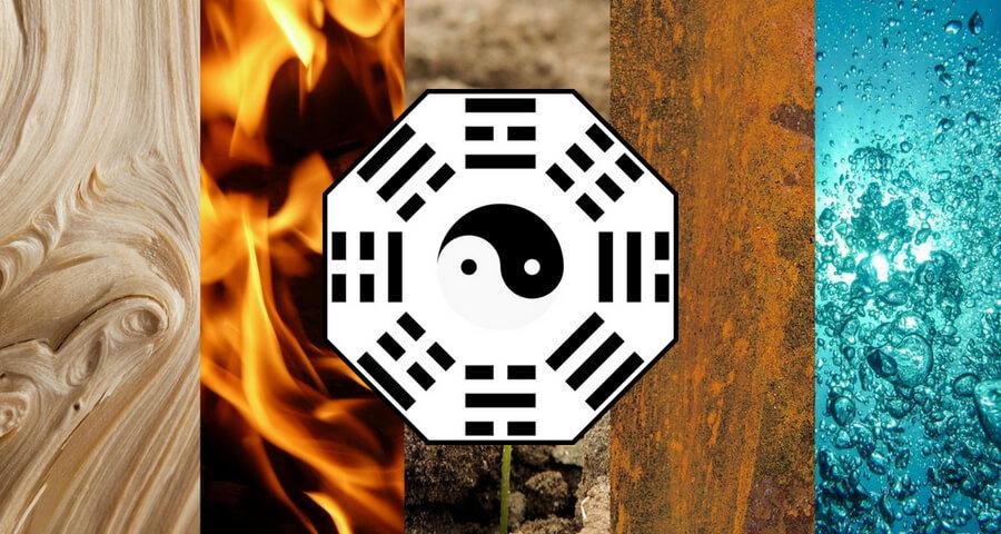 5 elementos puntos cardinales feng shui