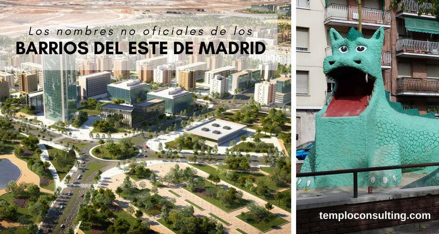 barrios del este de Madrid