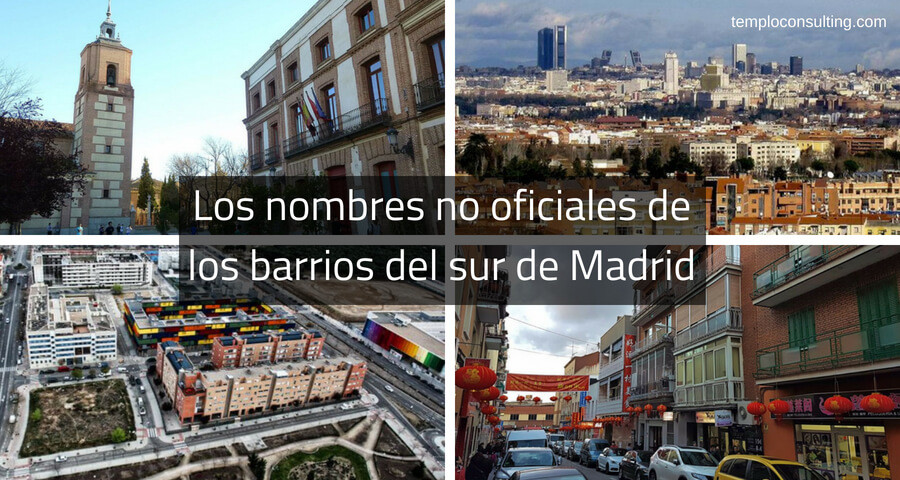 nombres de los barrios del sur de Madrid