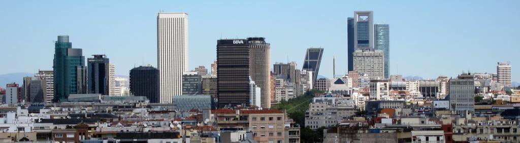 rascacielos de Azca