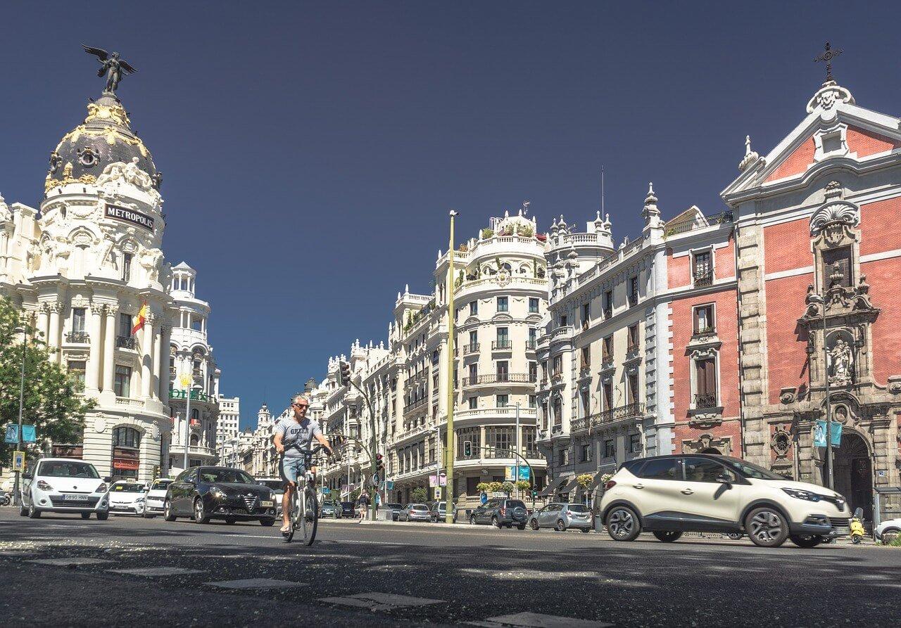 centro de Madrid, distrito propicio al alquiler turístico