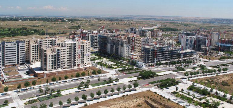 valdebebas, uno de los barrios del oeste de Madrid