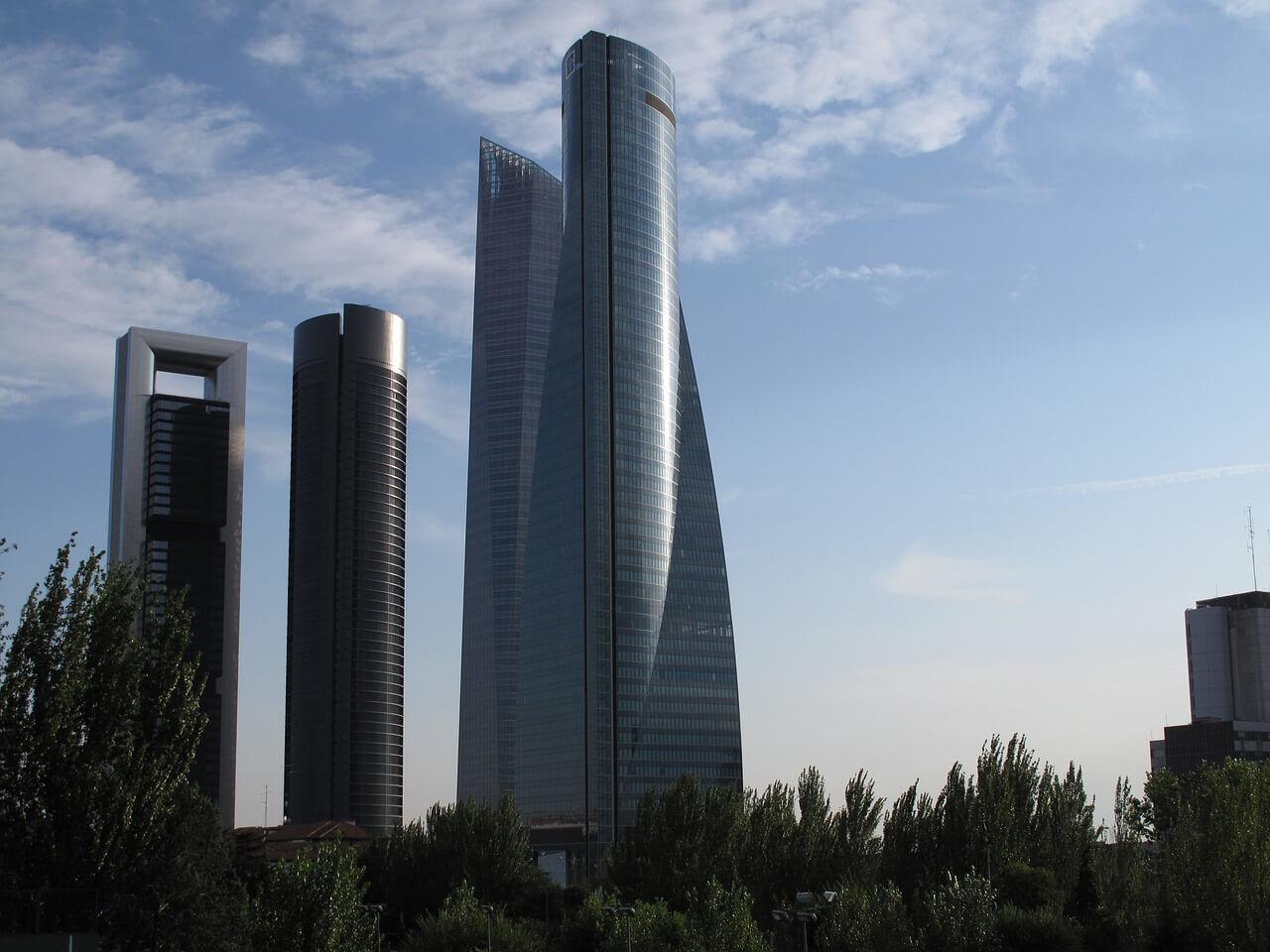 cuatro torres de Madrid, razones para vivir en Madrid
