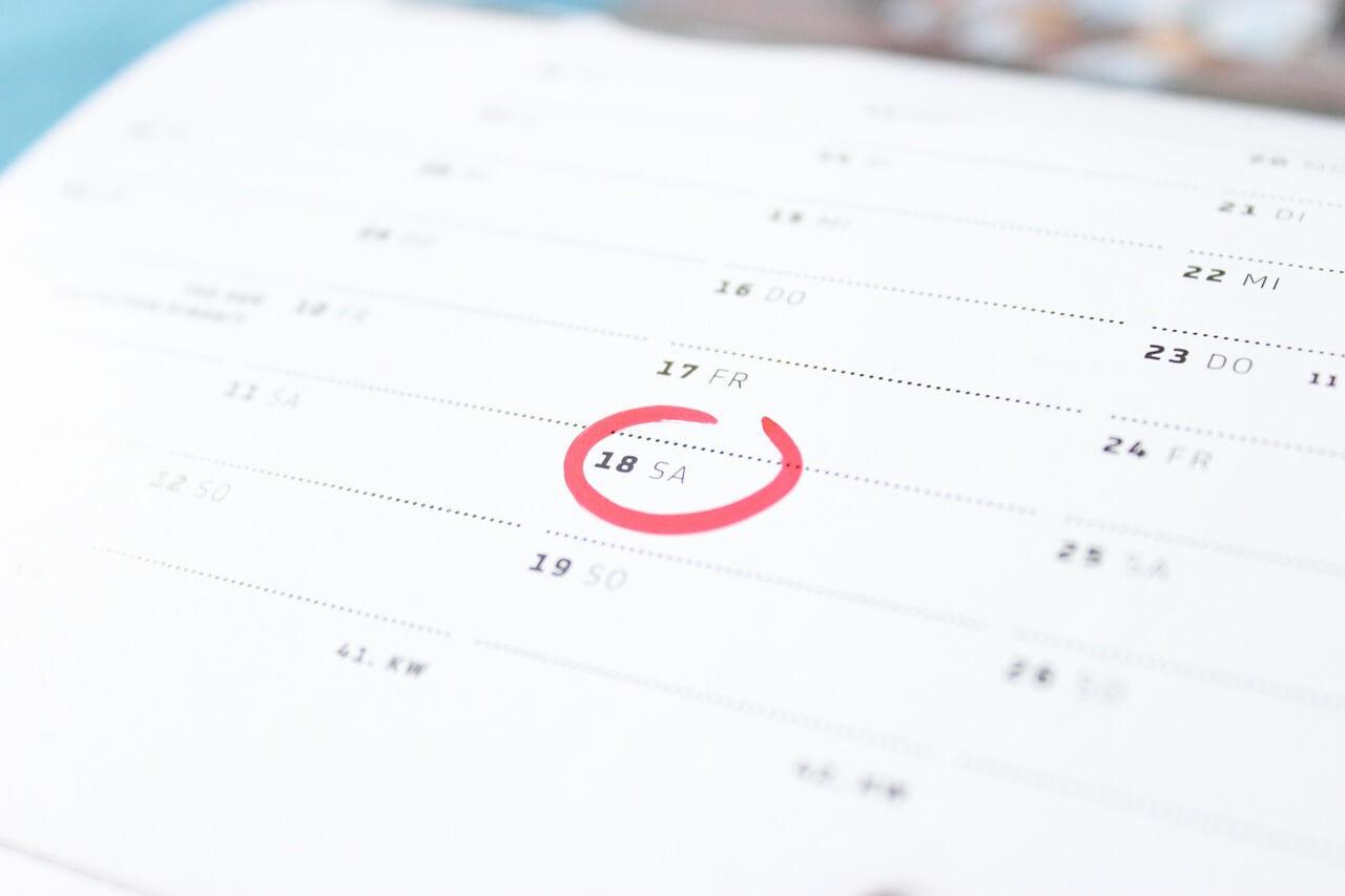 calendario mudanza