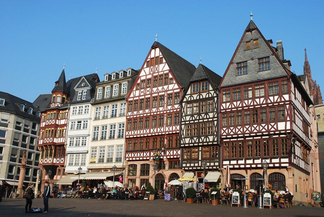 casco histórico de Frankfurt