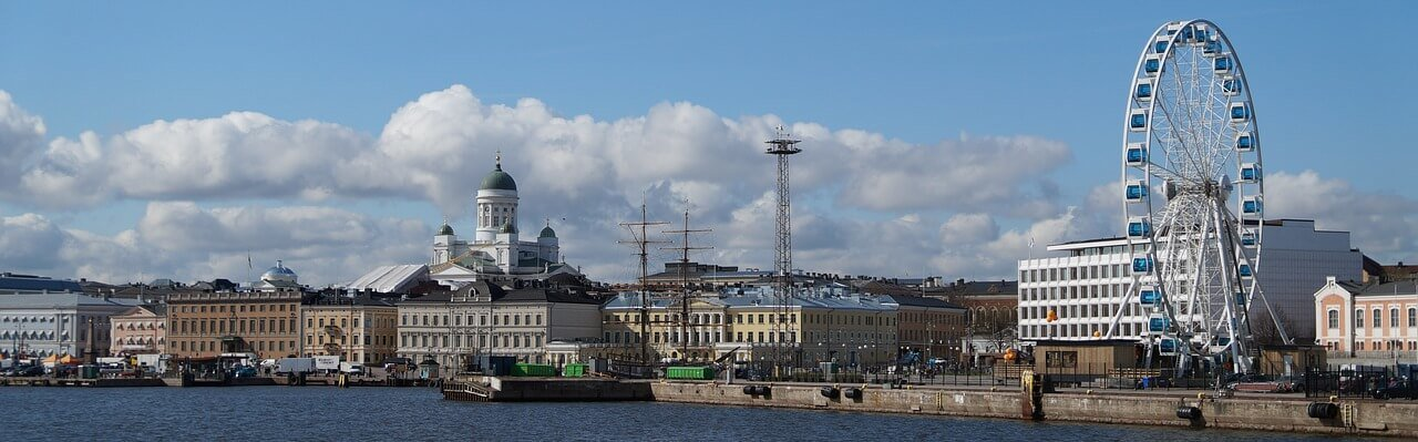 panorámica de Helsinki