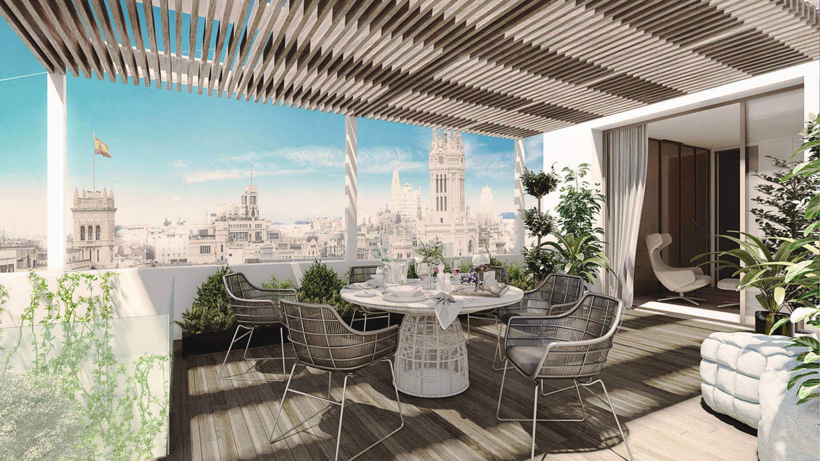 vivienda de lujo en Madrid