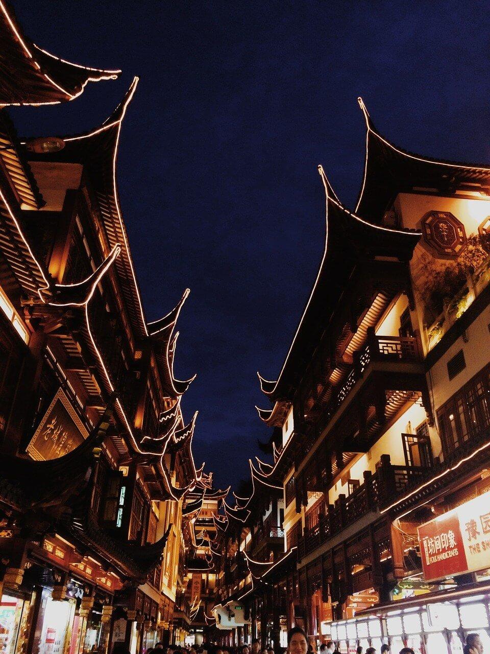 shanghai china templo