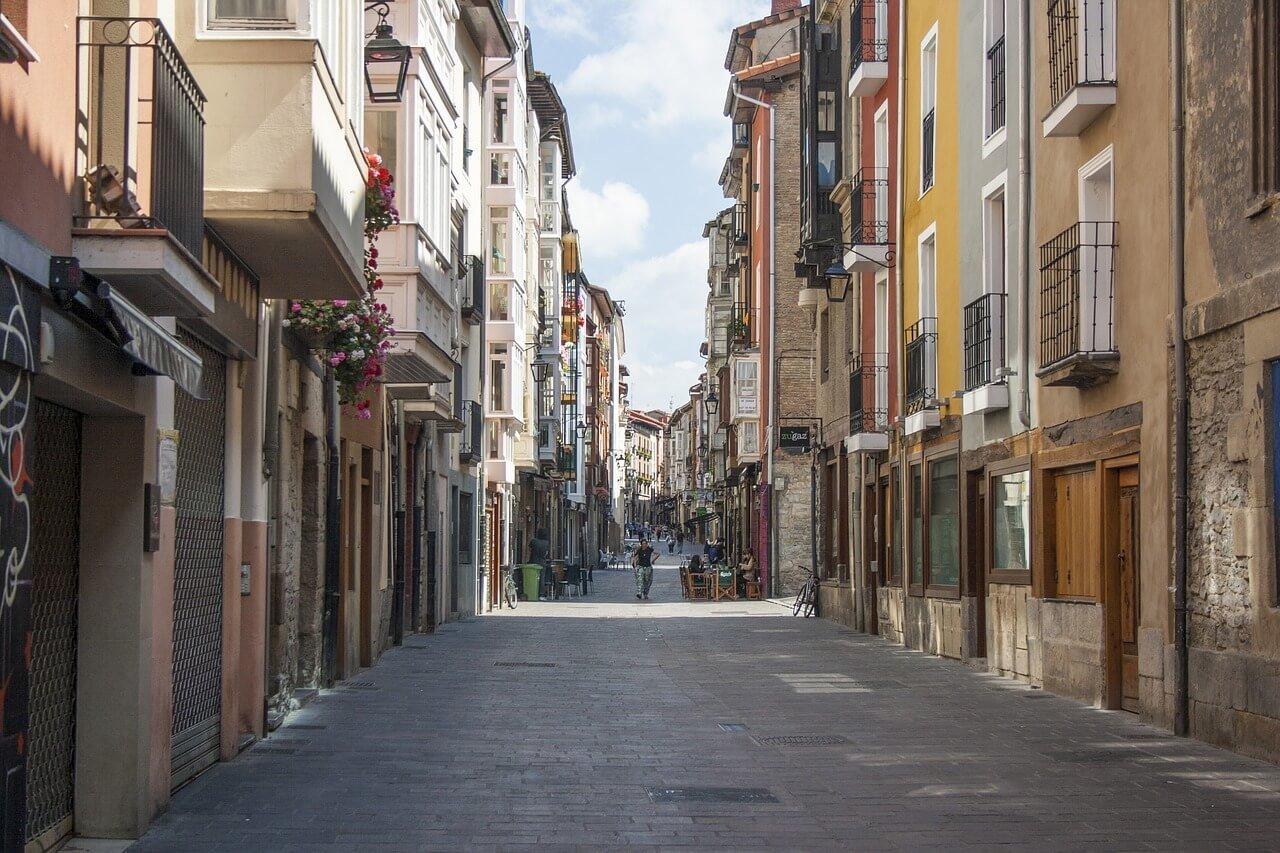 Indice de criminalidad para comprar una vivienda en Vitoria