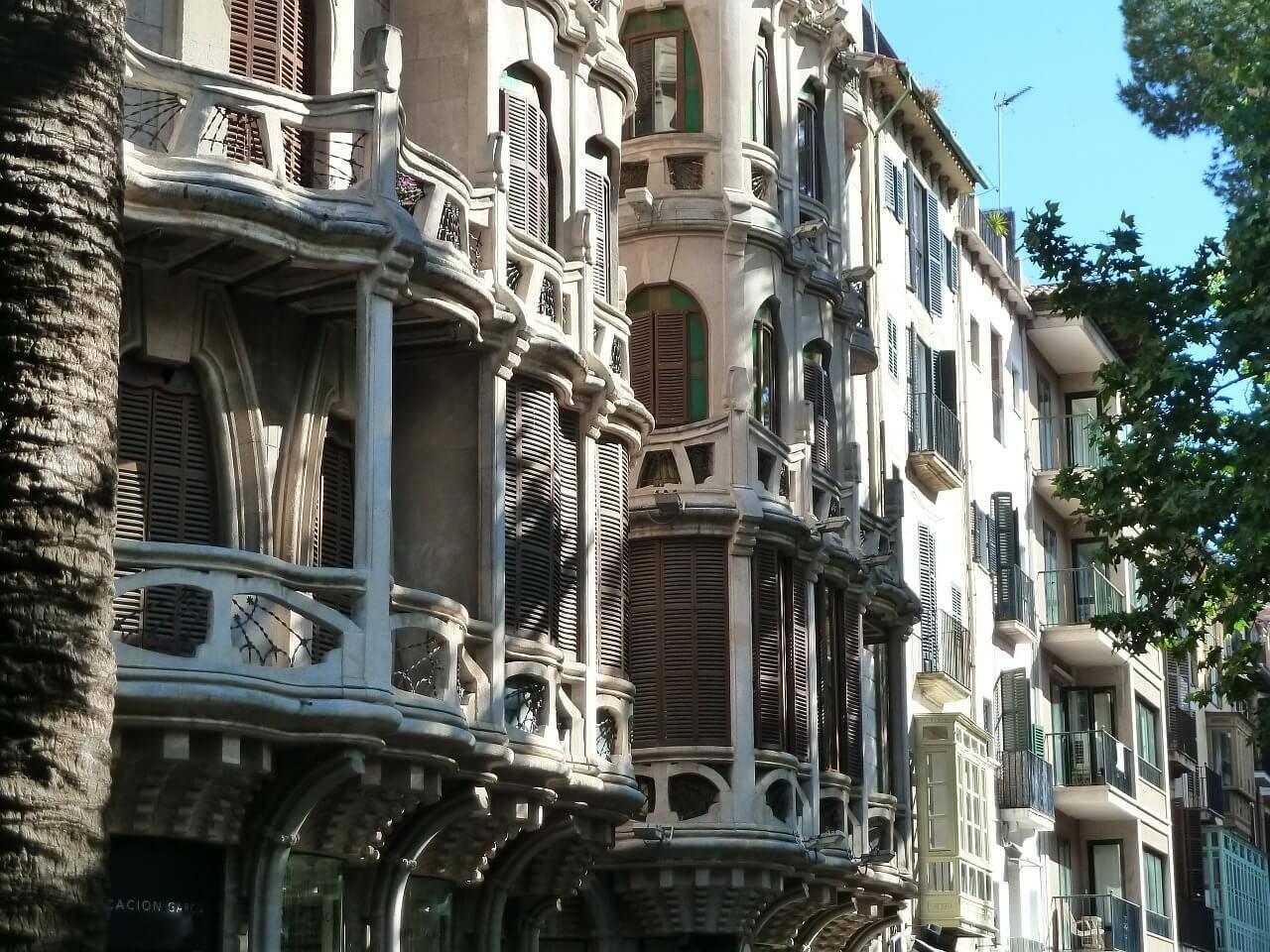 Palma de Mallorca modernista