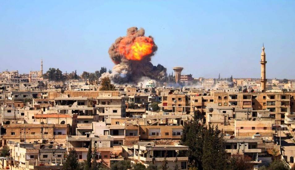 bombardeo en damasco