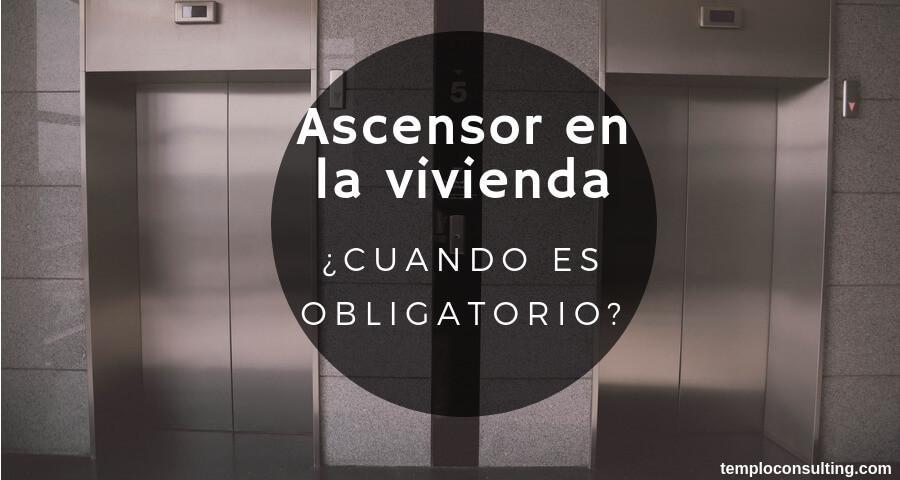 ascensor en la vivienda