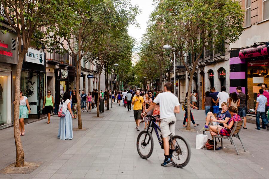 calle Fuencarral madrid