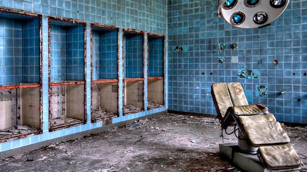 Hospital del Tórax_casas más terroríficas de España
