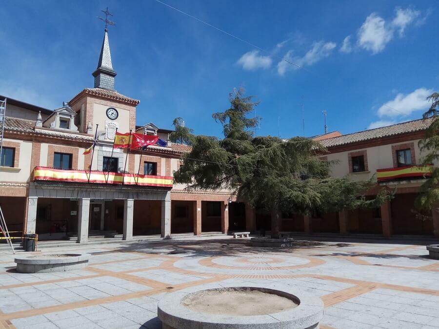 Plaza mayor de Las Rozas