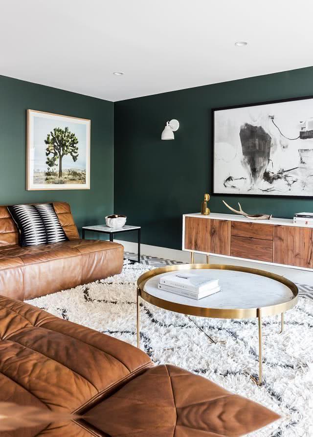 salón verde bosque