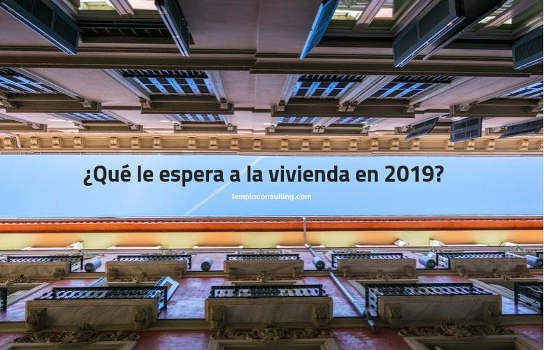 Vivienda en 2019 en España