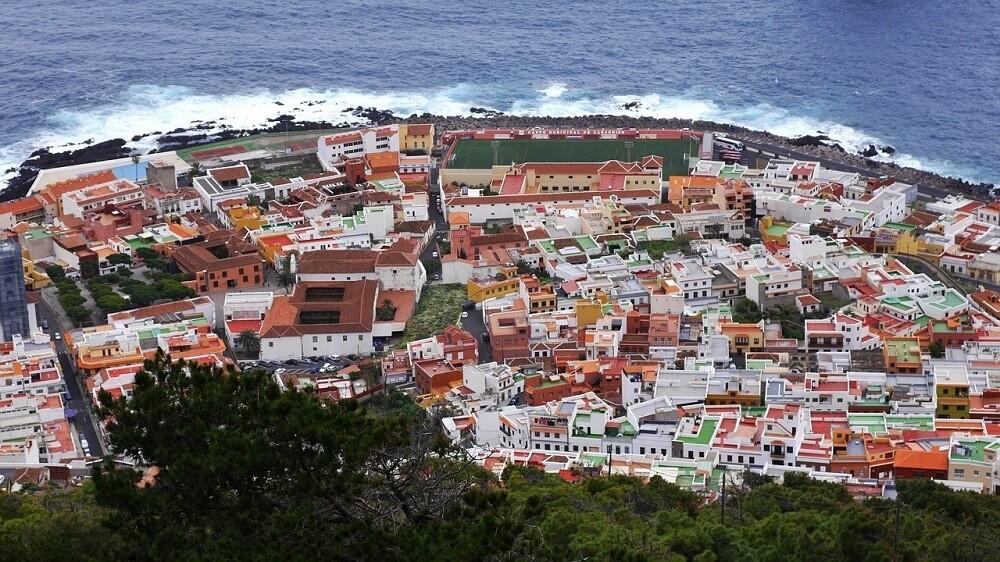 Garachico en la isla de Tenerife