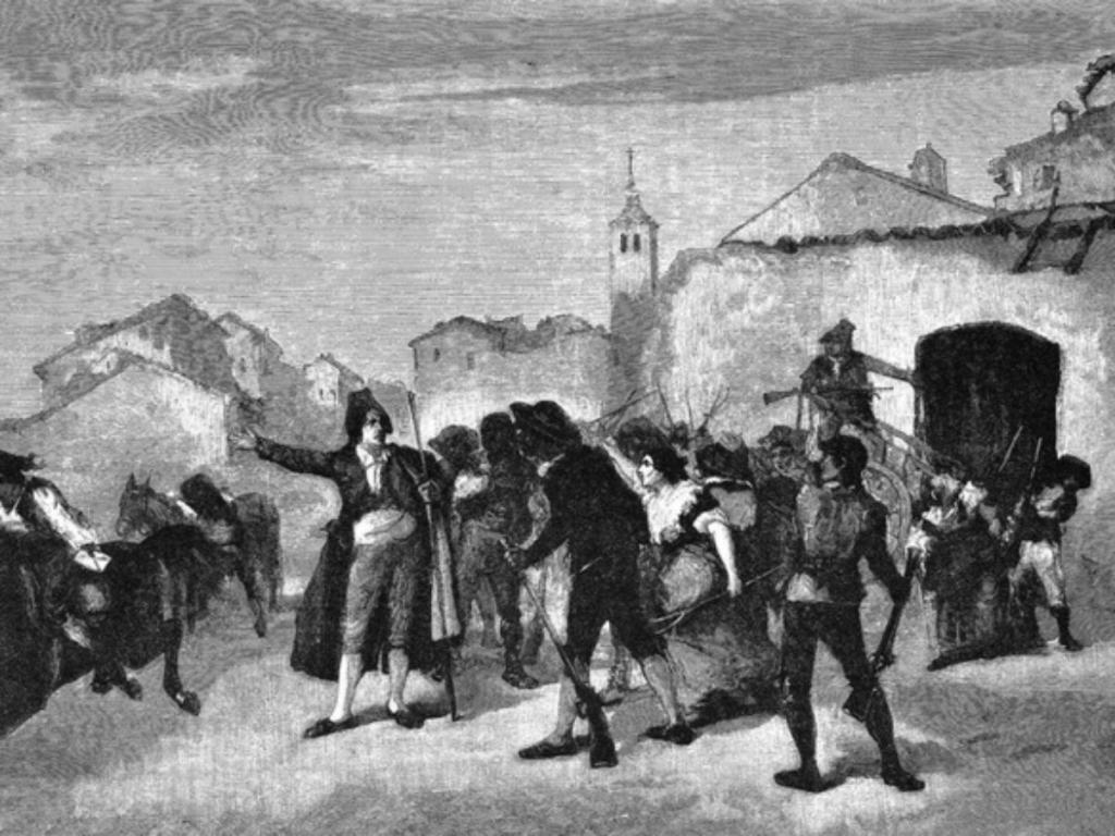 Bando de los alcaldes, comienzo de la Guerra de la Independencia