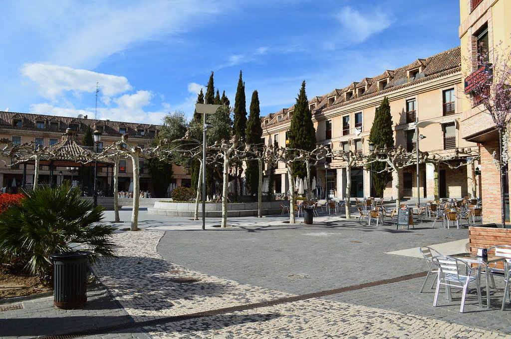 Plaza de España en Las Rozas