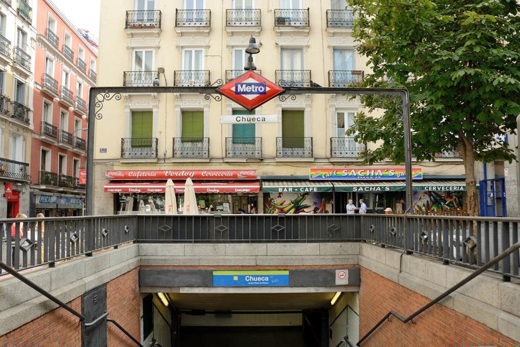 Parada de Metro de Madrid, Chueca