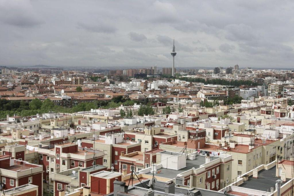 Vistas de Madrid desde La Elipa