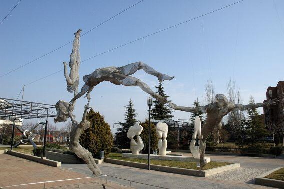 Museo al aire libre en el Parque de las Dehesillas