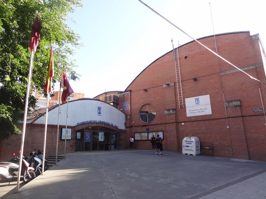 Polideportivo Triangulo de Oro en Tetuán Madrid
