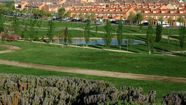 Vistas de la ciudad desde los parques