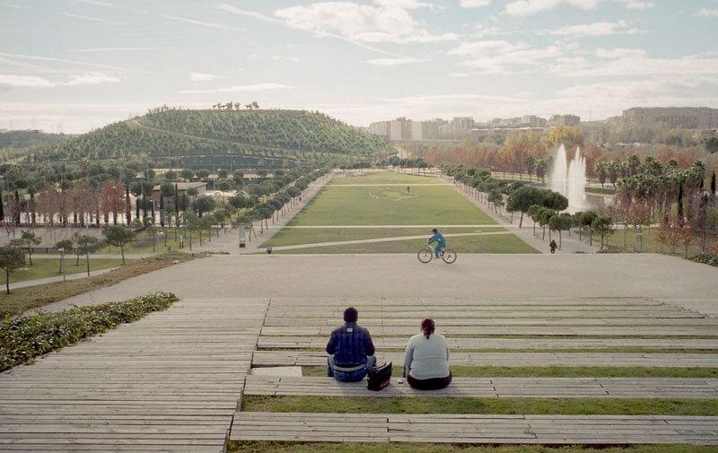 Uno de los parques mas grandes de Madrid esta en Usera