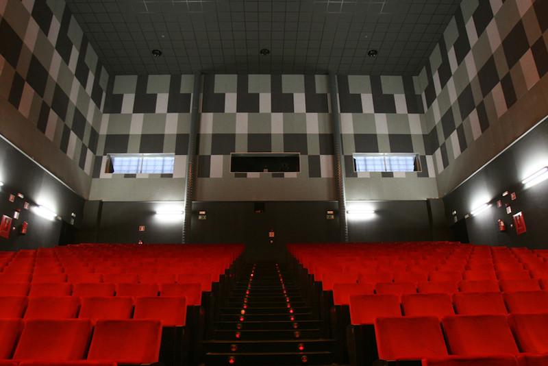 auditorio en la zona del centro cultural