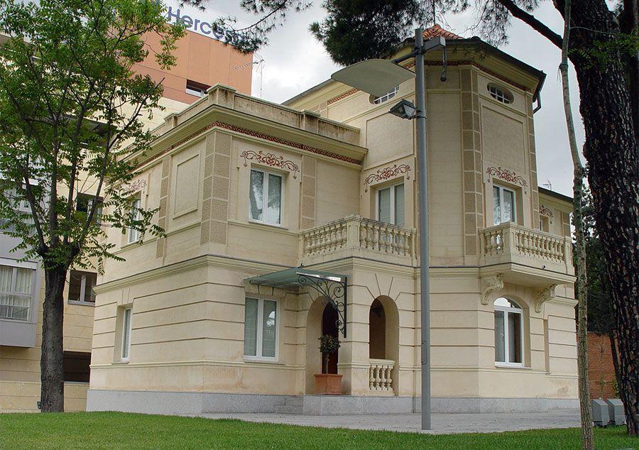 Villa Rosario, actual sede de Hercesa
