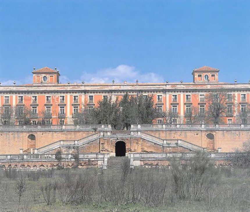 otra vista del palacio de Boadilla del Monte