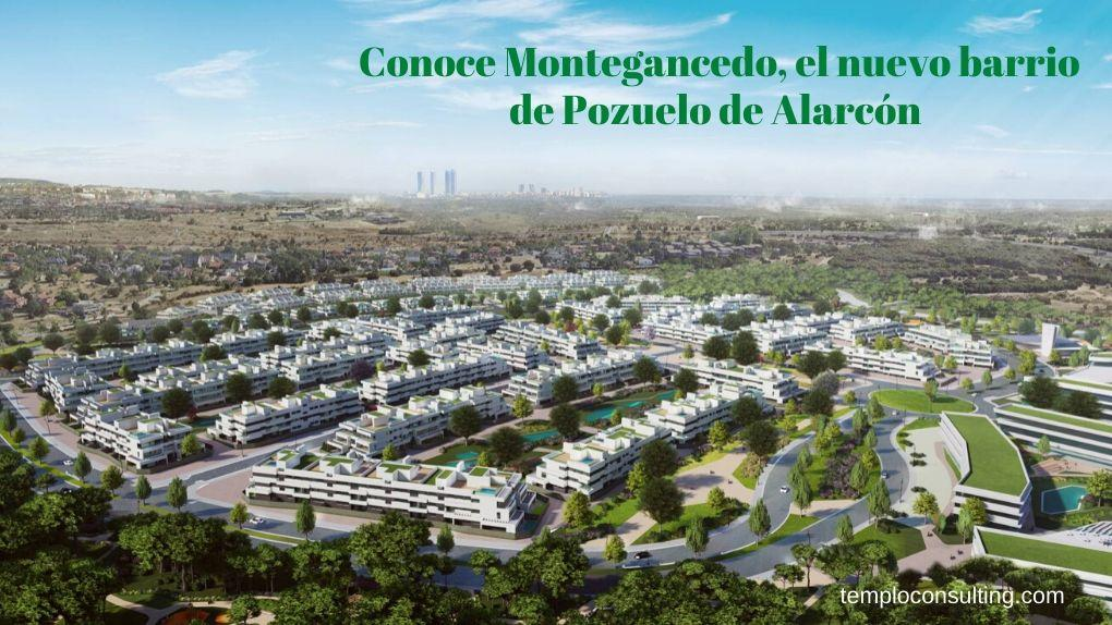 Montegancedo es el nuevo proyecto urbanístico en Pozuelo de Alarcón