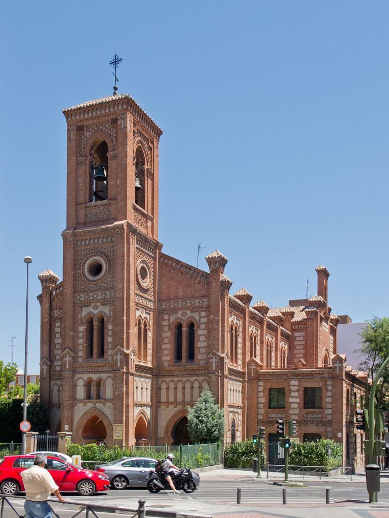 Parroquia de Santa Cristina en Puerta del Ángel