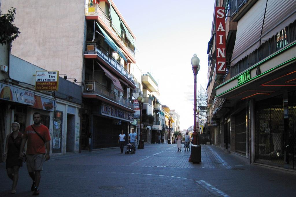 Avenida pincipal del municipio madrileño de Getafe