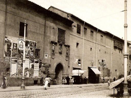 Fachada del Hospital de la Concepción,