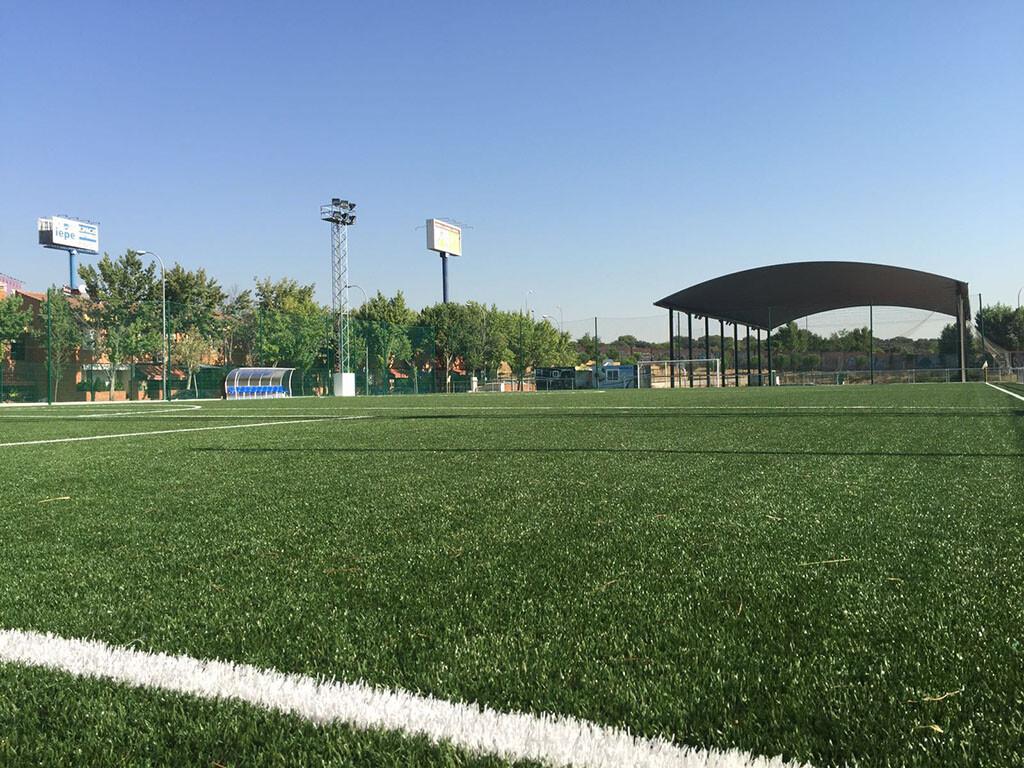 Pistas de fútbol y otras instalaciones deportivas de la localidad