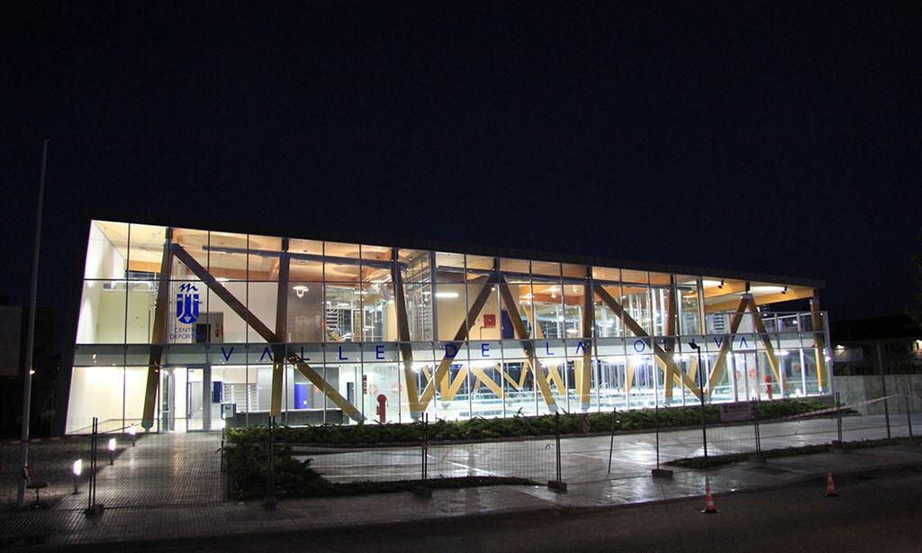 Una de las instalaciones deportivas municipales en Majadahonda