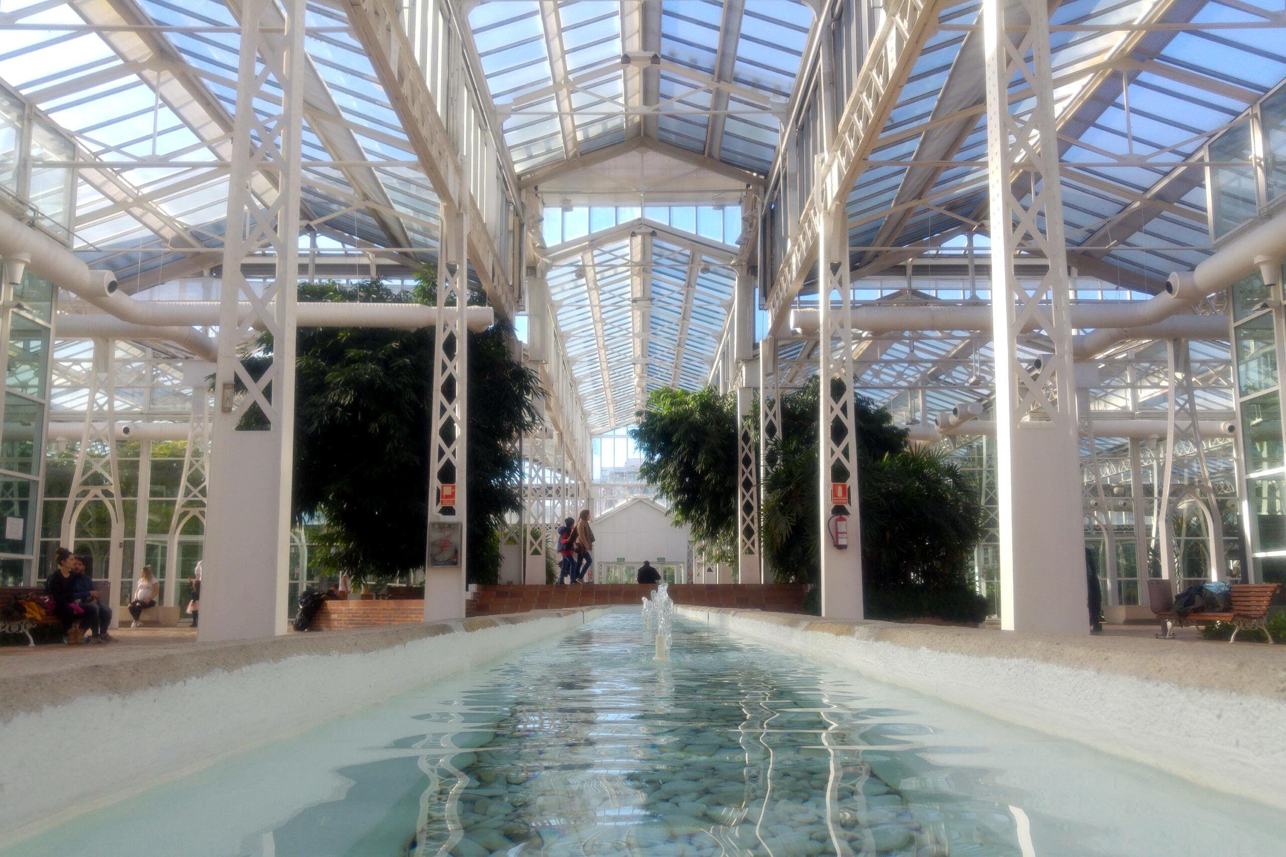 Interior del Palacio de Cristal de Arganzuela