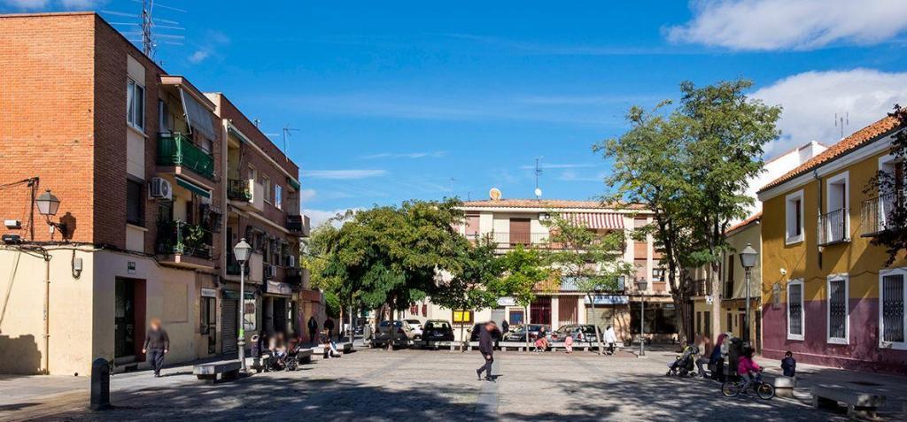 Plaza Mayor de Villaverde en Madrid