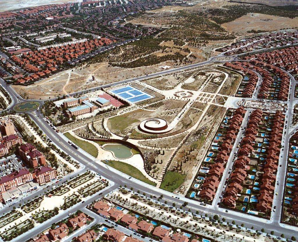 Vista aérea de la ciudad de Rivas
