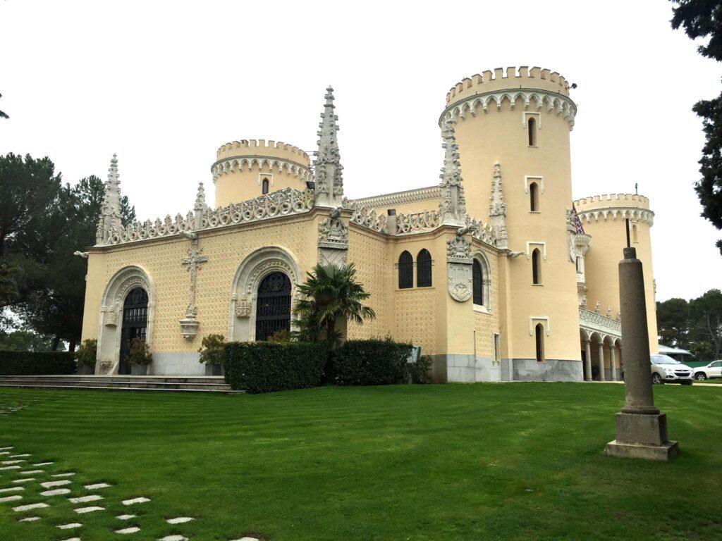 Castillo de Viñuelas en Madrid, espacio para eventos
