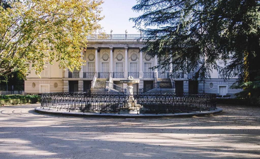 Parque del Capricho, Alameda de Osuna