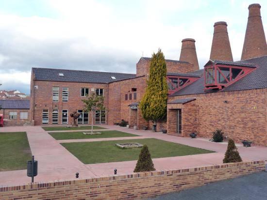Casa de la Cultura en la antigua fabrica de loza