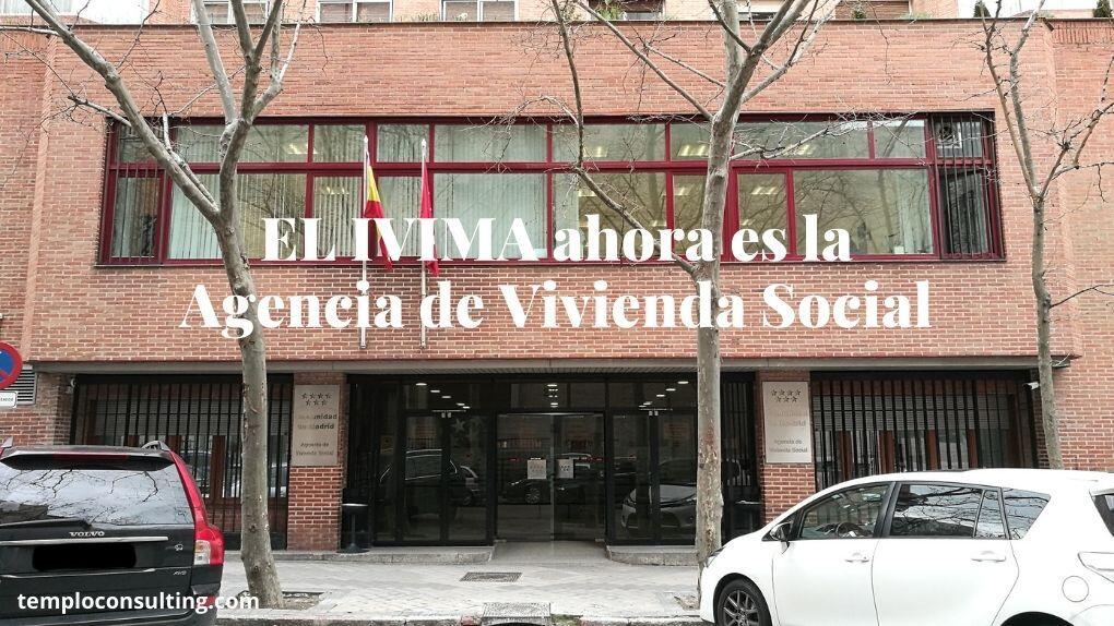 El antiguo Insituto de la Vivienda de Madrid ahora se llama Agencia de Vivienda Social