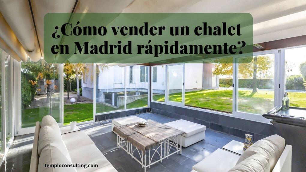 Estrategia de Templo Consulting para vender un chalet en Madrid al mejor precio
