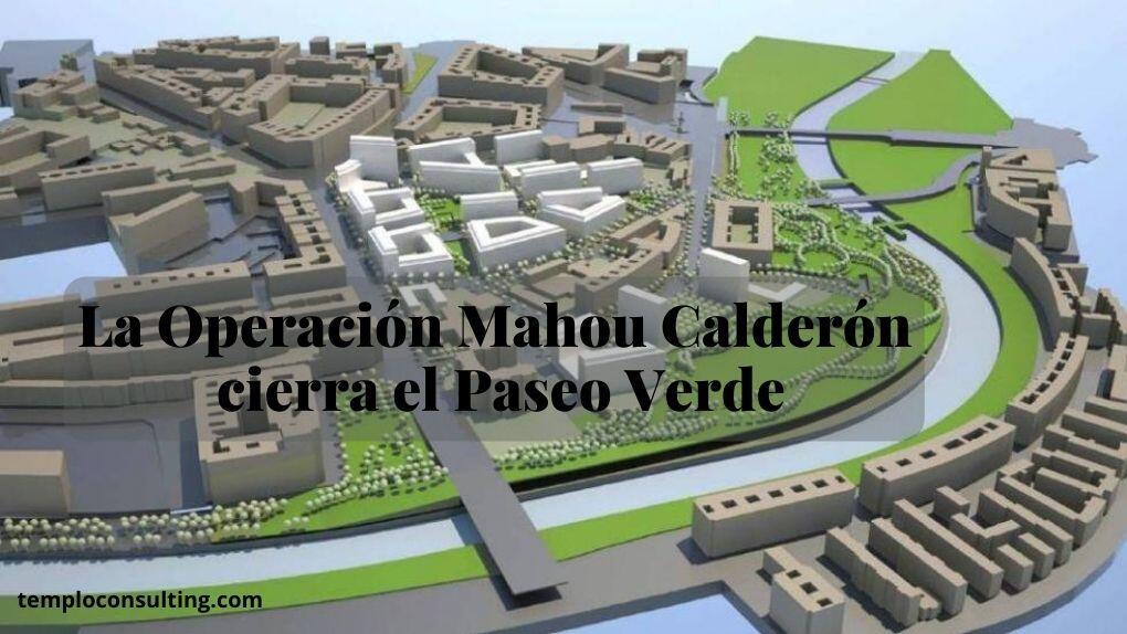 La última bolsa de suelo edificable en la capital está en la Operación calderón